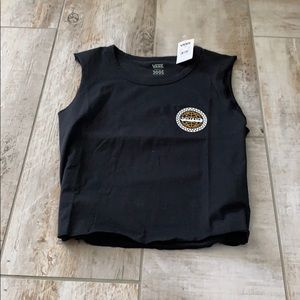 Vans crop top shirt